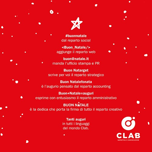 Dediche Di Buon Natale.Buon Natale In Tutti I Linguaggi Del Mondo Clab